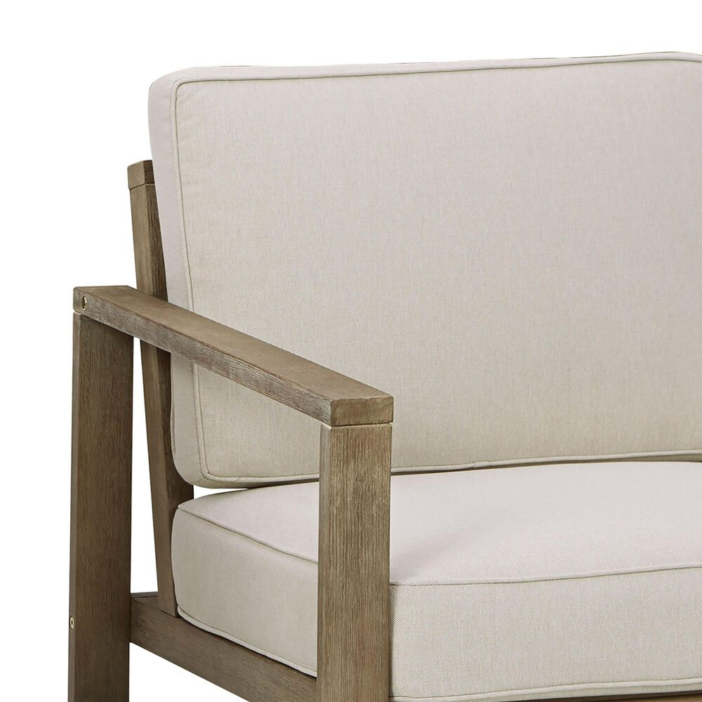 Signature Design by Ashley Fynnegan Lounge Chair in Light Brown - Set of 2, , large