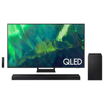 "Samsung 85"" Q70A Class 4K QLED UHD - Smart TV with 3.1.2 Channel Soundbar System, , large"