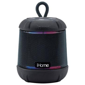 iHome PlayTough iBT155B Bluetooth Waterproof Speaker in Black, , large