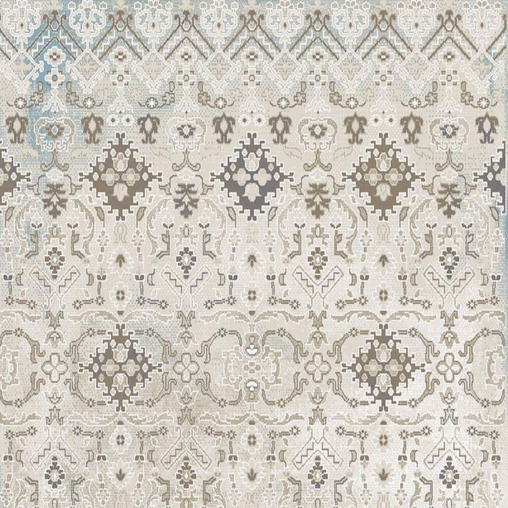"Central Oriental Sientan Wreni 2519.258 5'3"" x 7'3"" Light Beige and Cream Area Rug, , large"