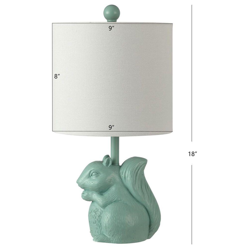 Safavieh Sunny Squirrel Table Lamp in Seafoam, , large