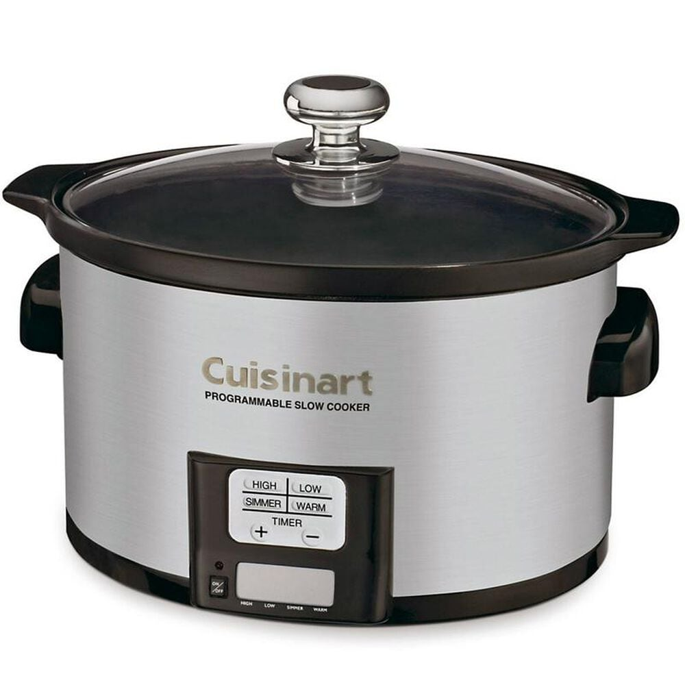 Cuisinart 3.5 Quart Programmable Slow Cooker, , large