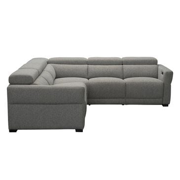 Stitch 3-Piece Power Reclining Sectional in Inferno Gray, , large