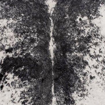 "nuLOOM Cattle GLCA01B-59077 5'9"" x 7'7"" Black Shaped Area Rug, , large"
