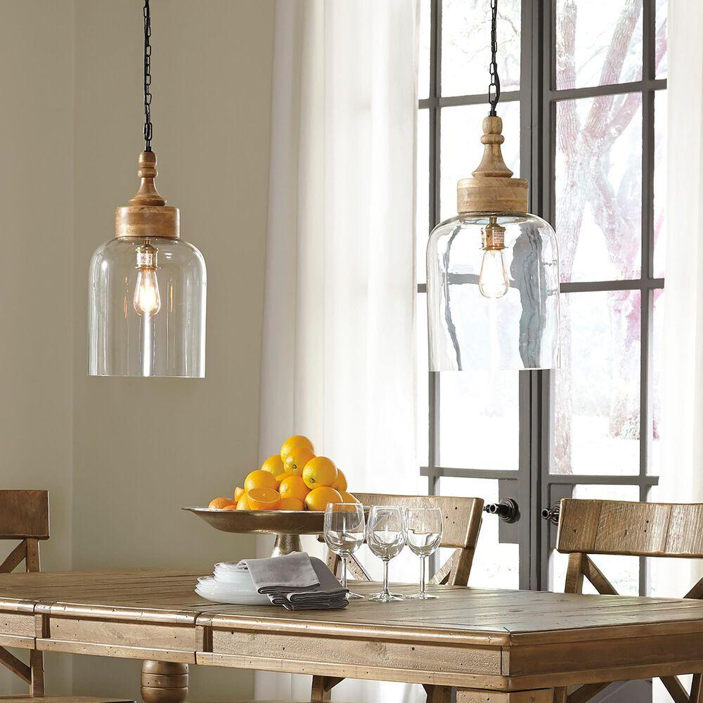 Signature Design by Ashley Faiz Glass Pendant Light in Natural, , large