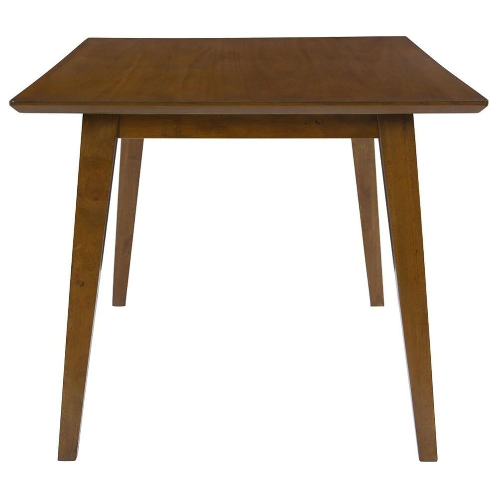 Parkerville Furniture Line Urban Boho Dining Table in Warm Brown, , large
