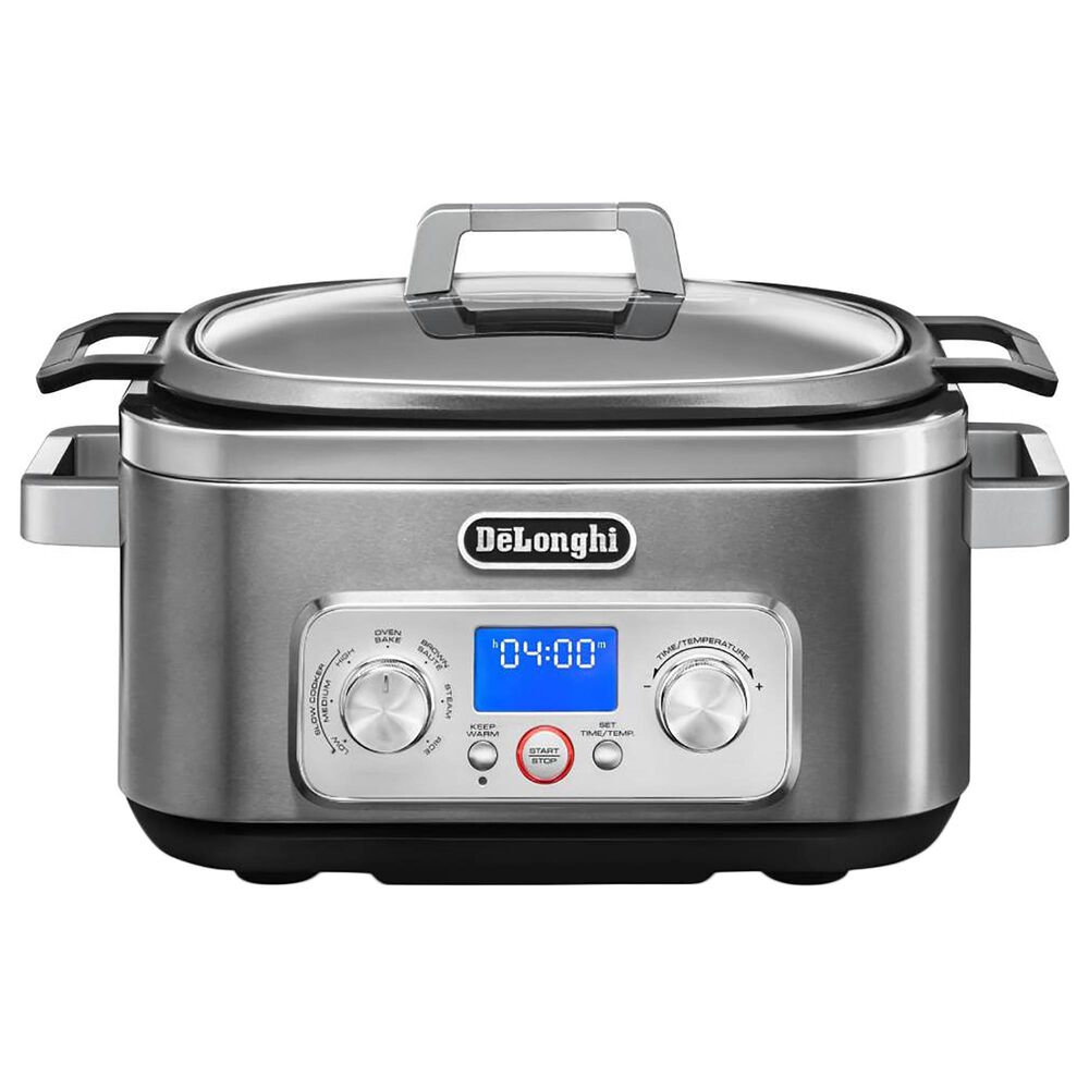 Delonghi Livenza 6-Quart All-In-One Programmable Multi Cooker in Silver, , large