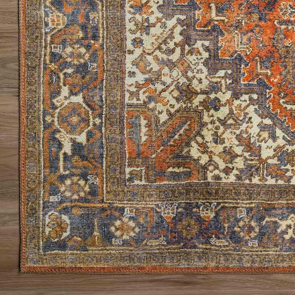 "Dalyn Rug Company Amanti AM3 3'3"" x 5'3"" Copper Area Rug, , large"