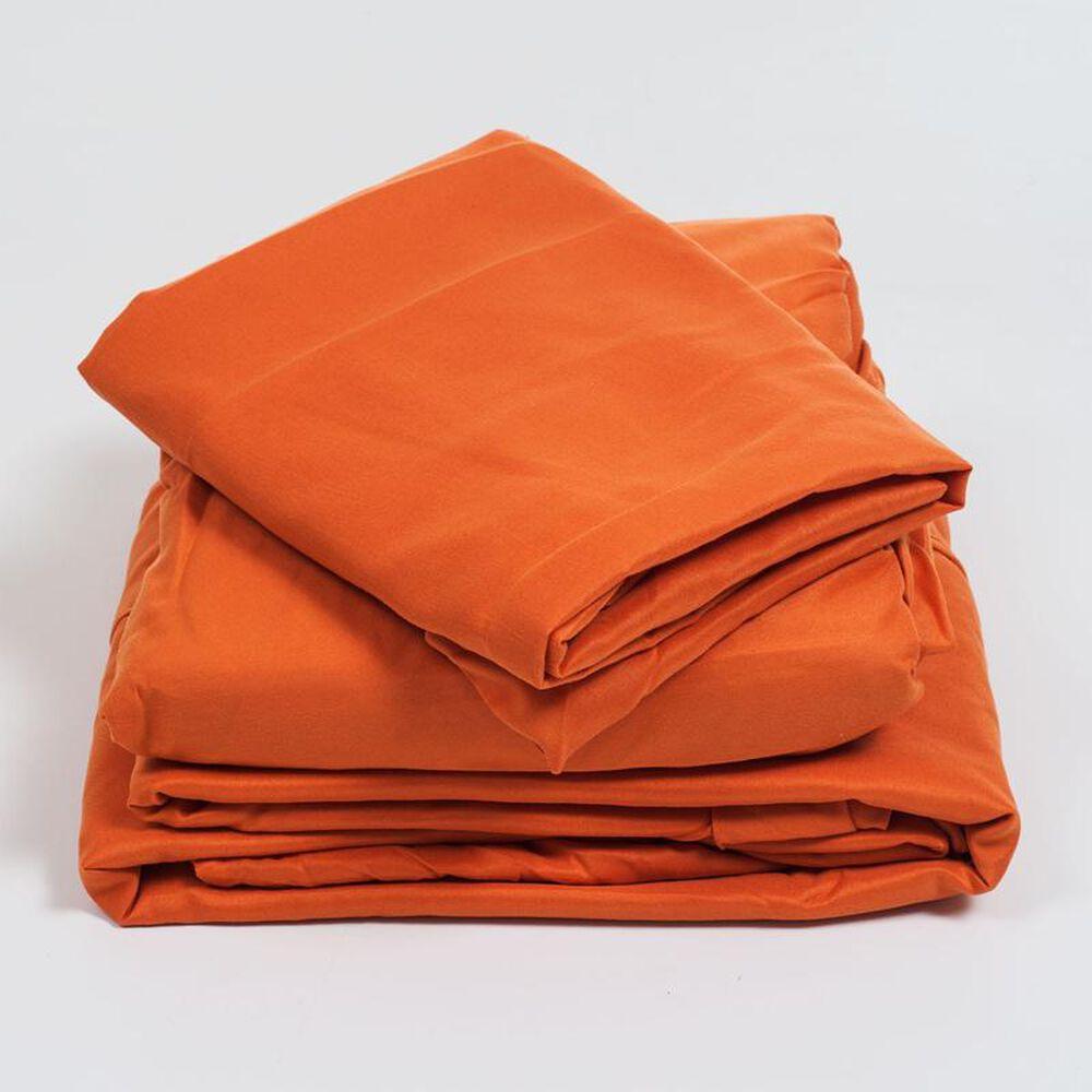 Timberlake Series 1200 Twin Sheet Set in Rust, , large
