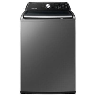 Samsung 4.4 Cu. Ft. Top Load Washer with Active Wave Agitator in Platinum, , large