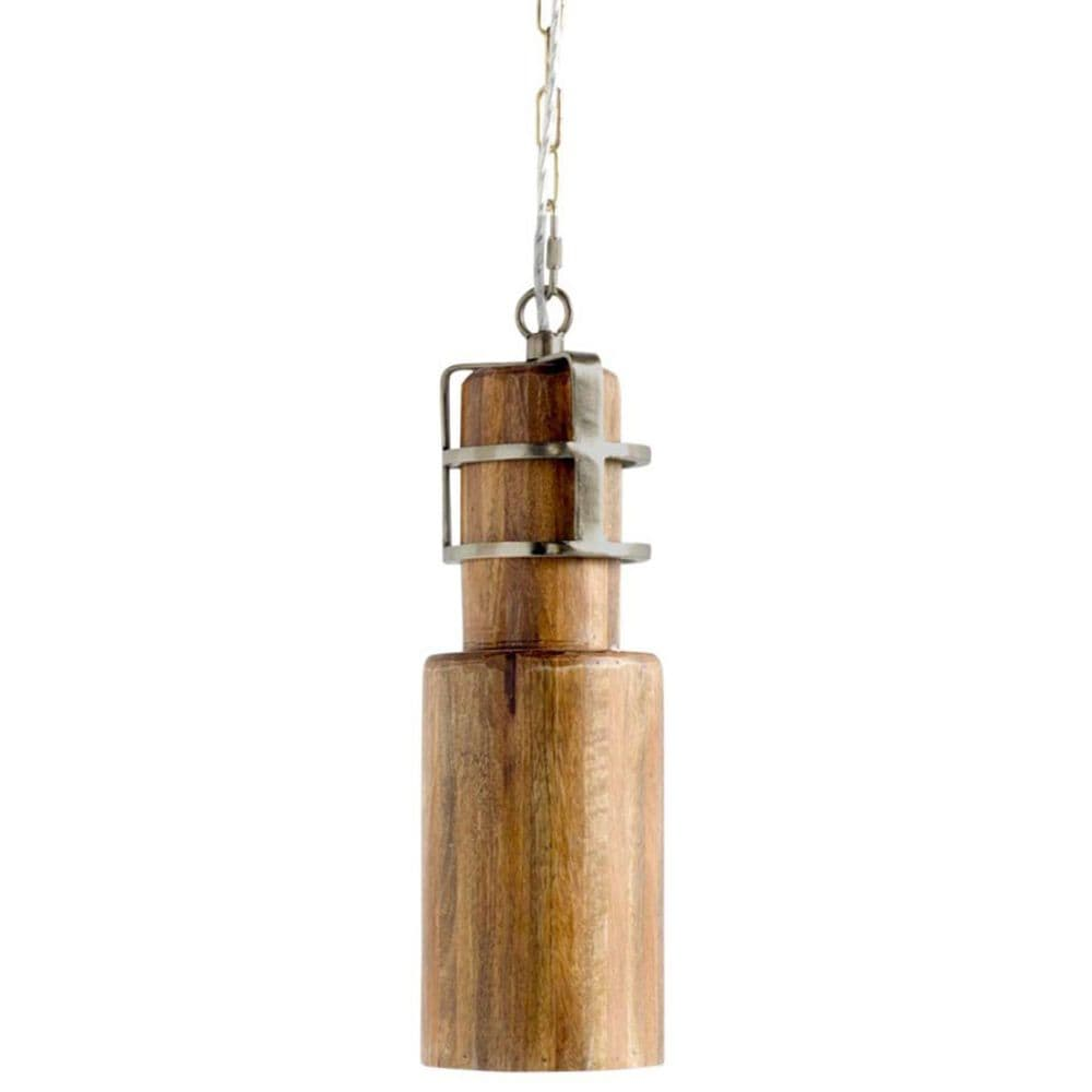 Mercana Trounce I 1-Light Pendant in Antiqued Gold, , large