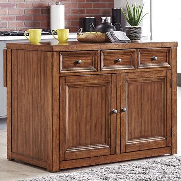 Home Styles Sedona Kitchen Island in Toffee, , large