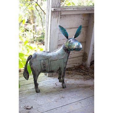 Kalalou Reclaimed Metal Donkey, , large