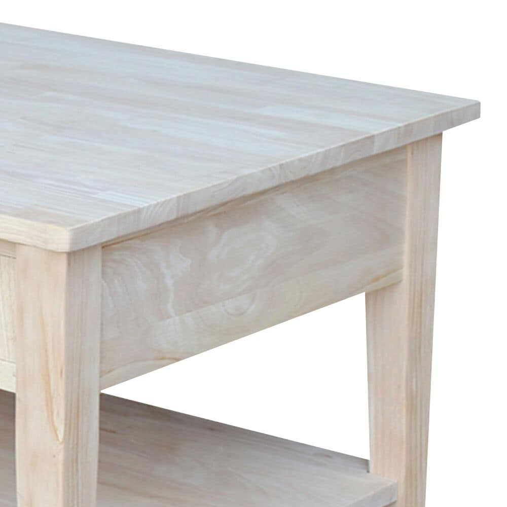 International Concepts Table OT-8C in Unfinished, , large