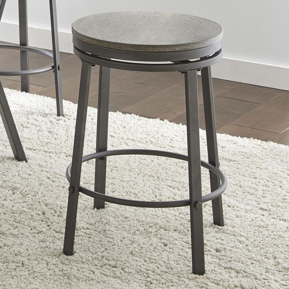 """Crystal City Portland 24"""" Counter Stool in Gray, , large"""