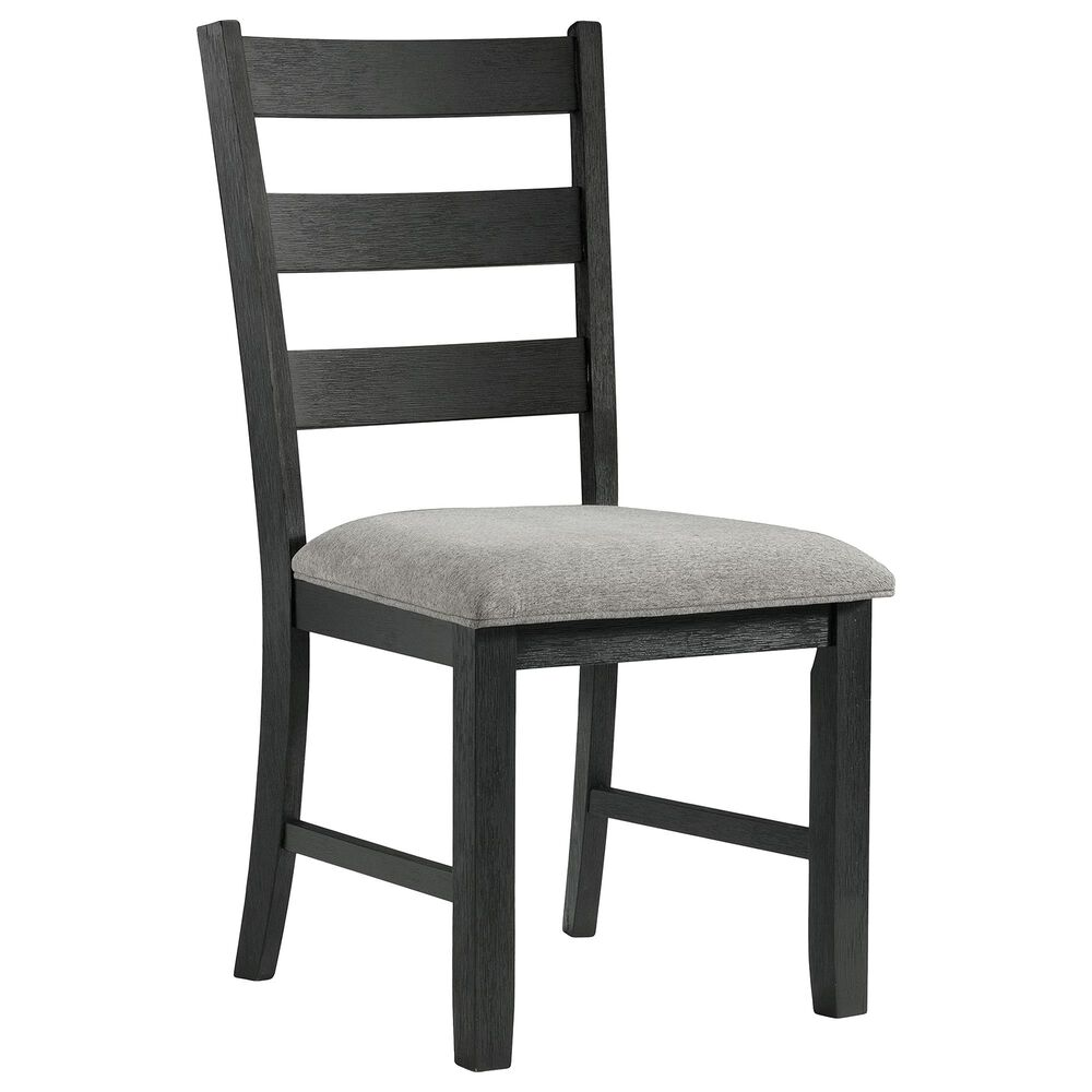 Mayberry Hill Martin 3-Piece Dining Set in Grey and Black, , large