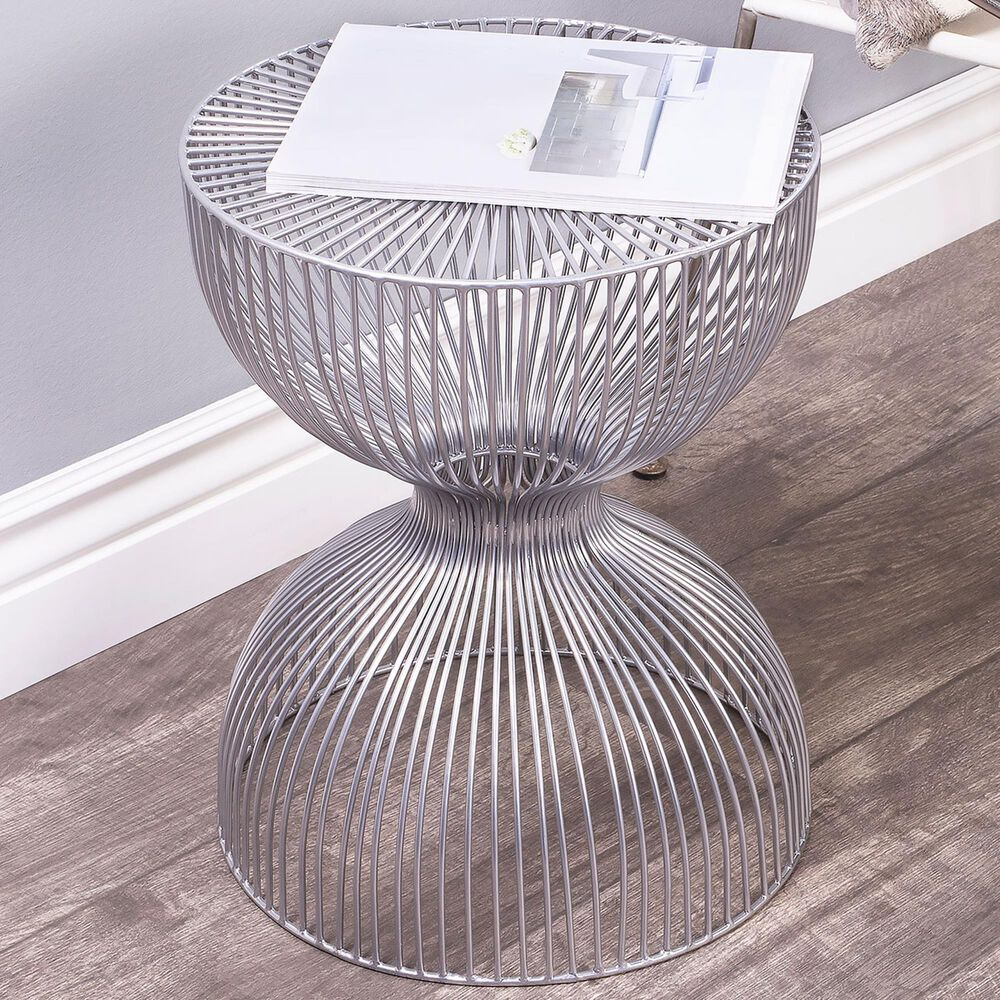 Butler Nicholas End Table in Silver, , large