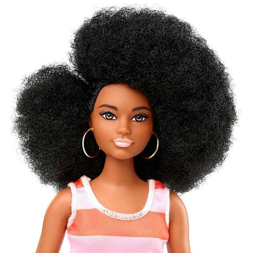 Barbie Fashionistas Doll - Curvy with Black Hair, , large