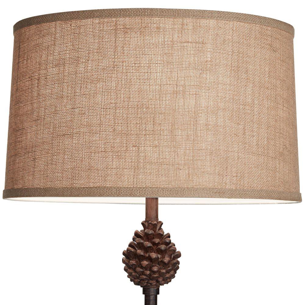 Pacific Coast Lighting Pinecliffe Floor Lamp in Multi-Wood Brown, , large