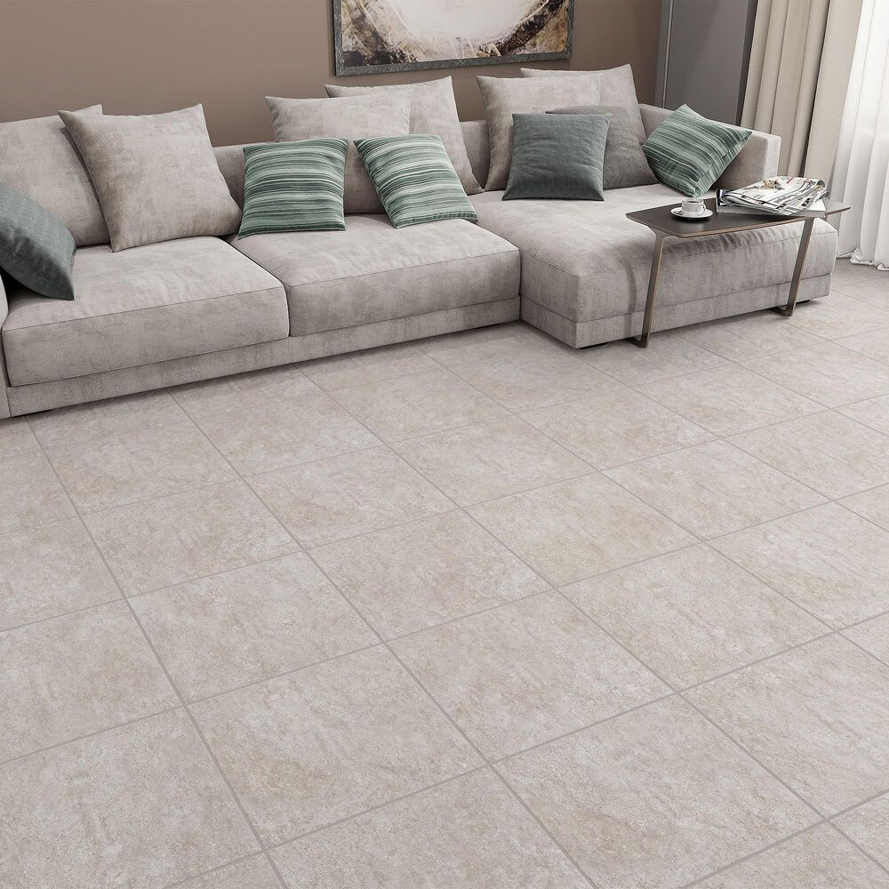 "Emser Topanga Greige 18"" x 18"" Ceramic Tile, , large"