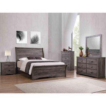 Claremont Coralee 6 Drawer Dresser in Grey, , large