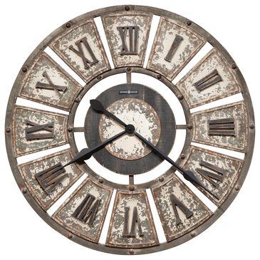 Howard Miller Edon Wall Clock in Aged White, , large