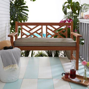 "Sorra Home Sunbrella 55"" x 18"" Bench Cushion in Canvas Taupe, , large"