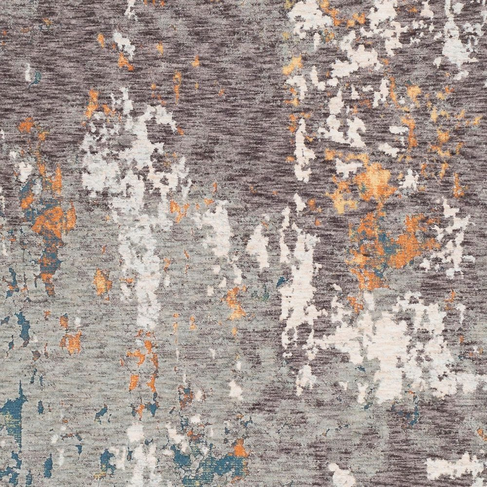 """Surya Presidential PDT-2302 7'9"""" x 10'3"""" Blue, Gray and Orange Area Rug, , large"""