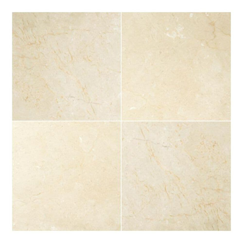 """Emser Crema Marfil Classico Freemont Beige 12"""" x 12"""" Natural Stone Tile, , large"""