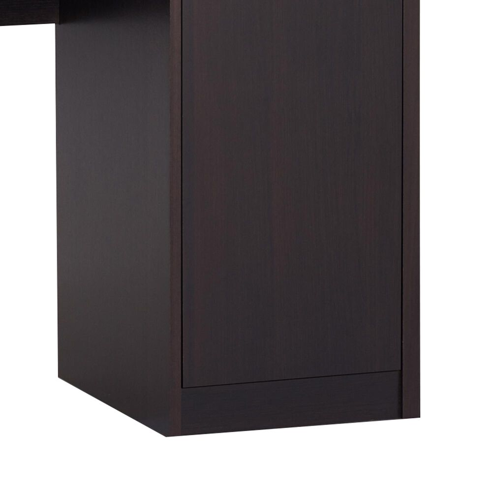 Furniture of America Nicholson Vanity with Mirror in Espresso, , large
