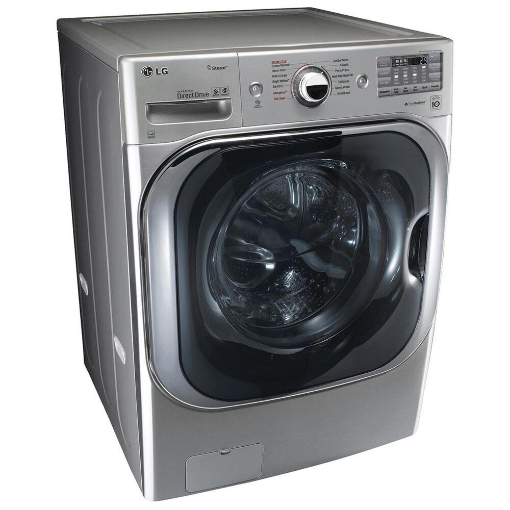LG 5.2 Cu. Ft. Mega Capacity Front Load Washer in Graphite Steel, , large