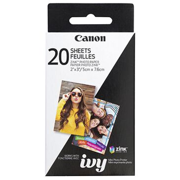 Canon Zink Photo Paper - 20 Sheets, , large