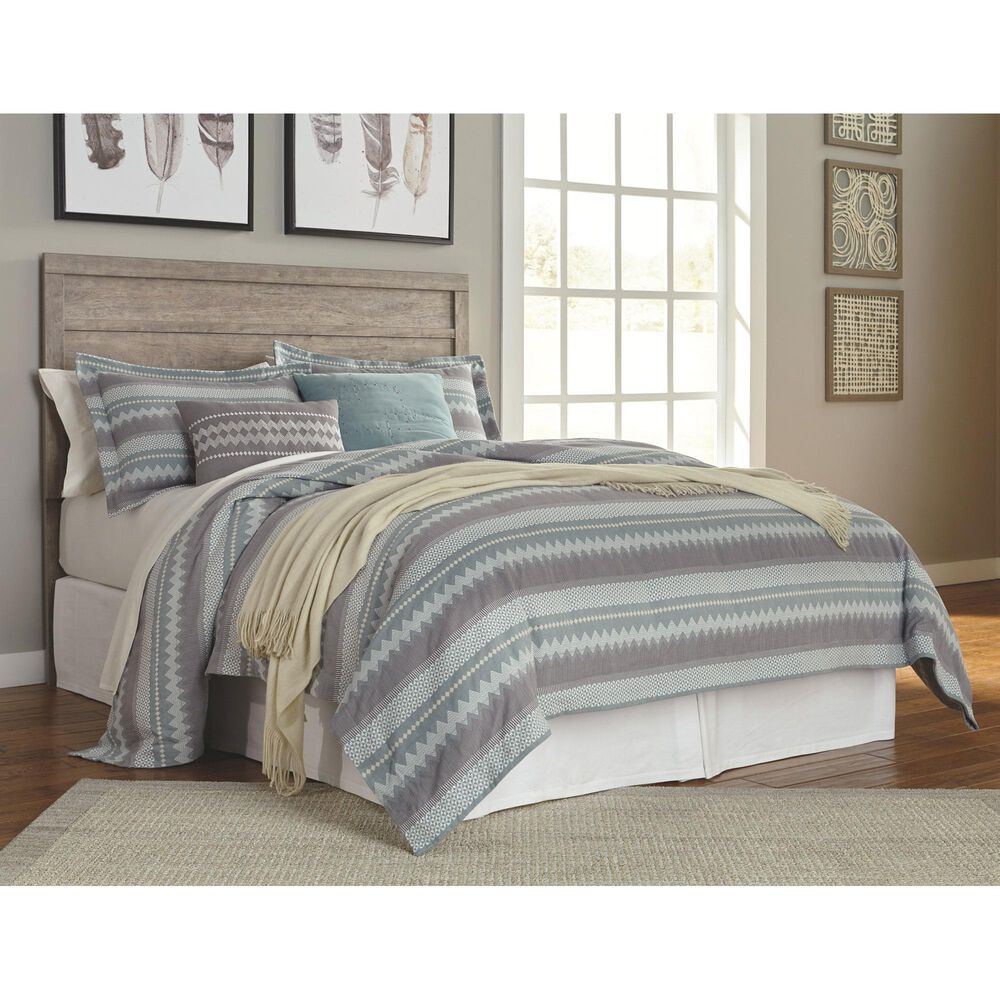 Signature Design by Ashley Culverbach Queen/Full Panel Headboard in Driftwood, , large