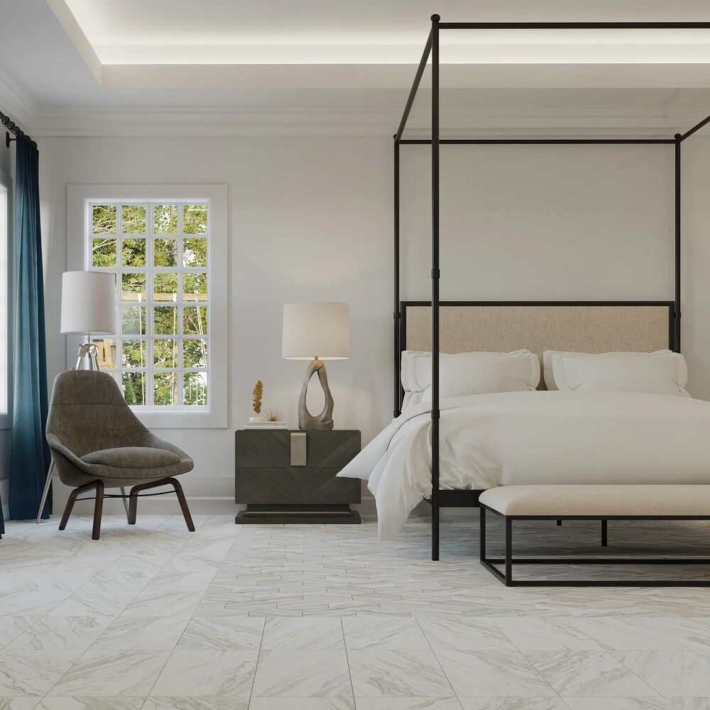 "Dal-Tile Perpetuo Timeless White 12"" x 24"" Satin Ceramic Wall Tile, , large"