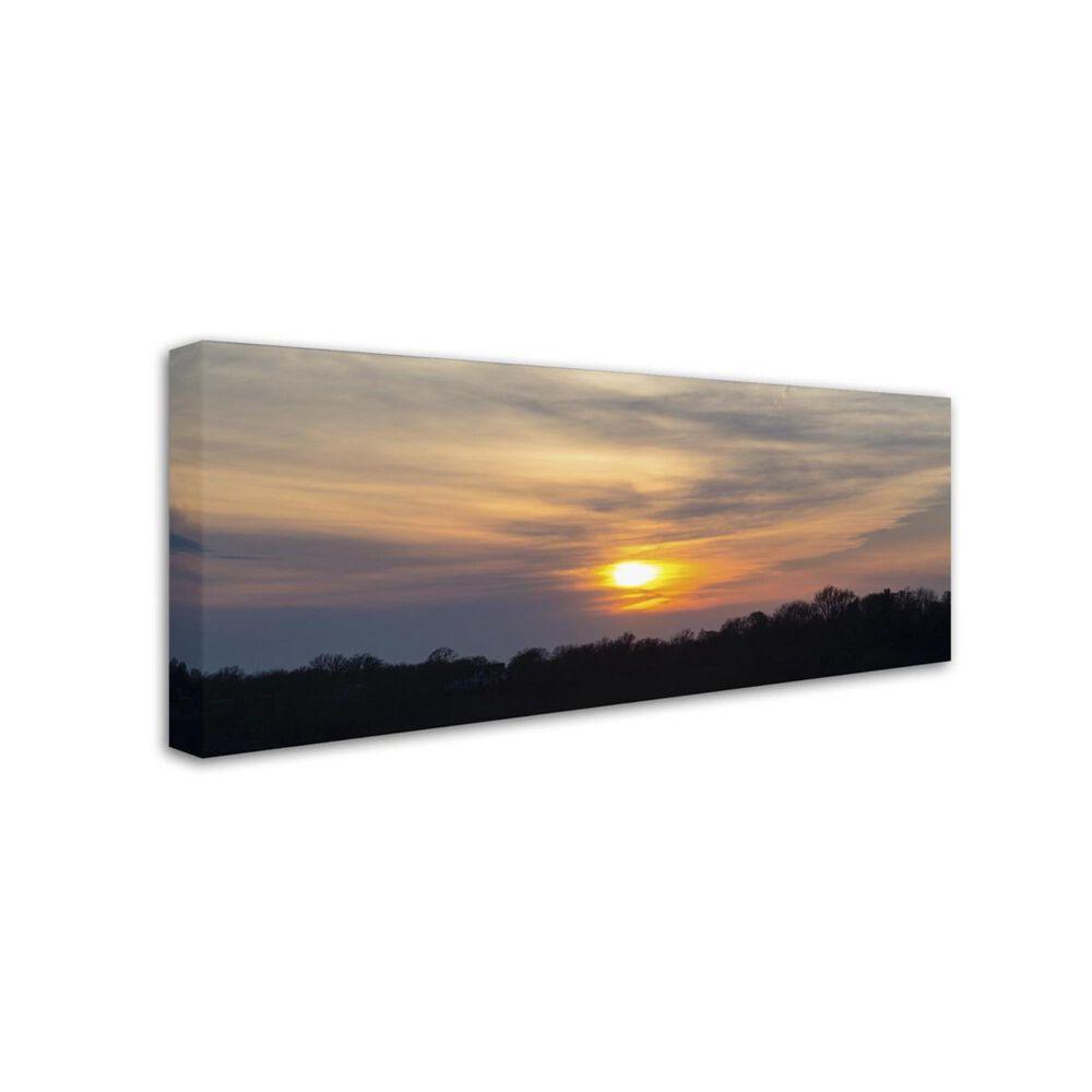 """Timberlake 14"""" x 32"""" Sunsets are Beautiful Canvas Art, , large"""