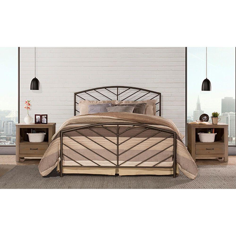 Richlands Furniture Essex Twin Metal Bed in Metallic Bronze, , large