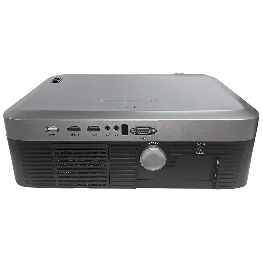 RCA 1080p Wi-Fi Home Theater Roku Smart Projector, , large