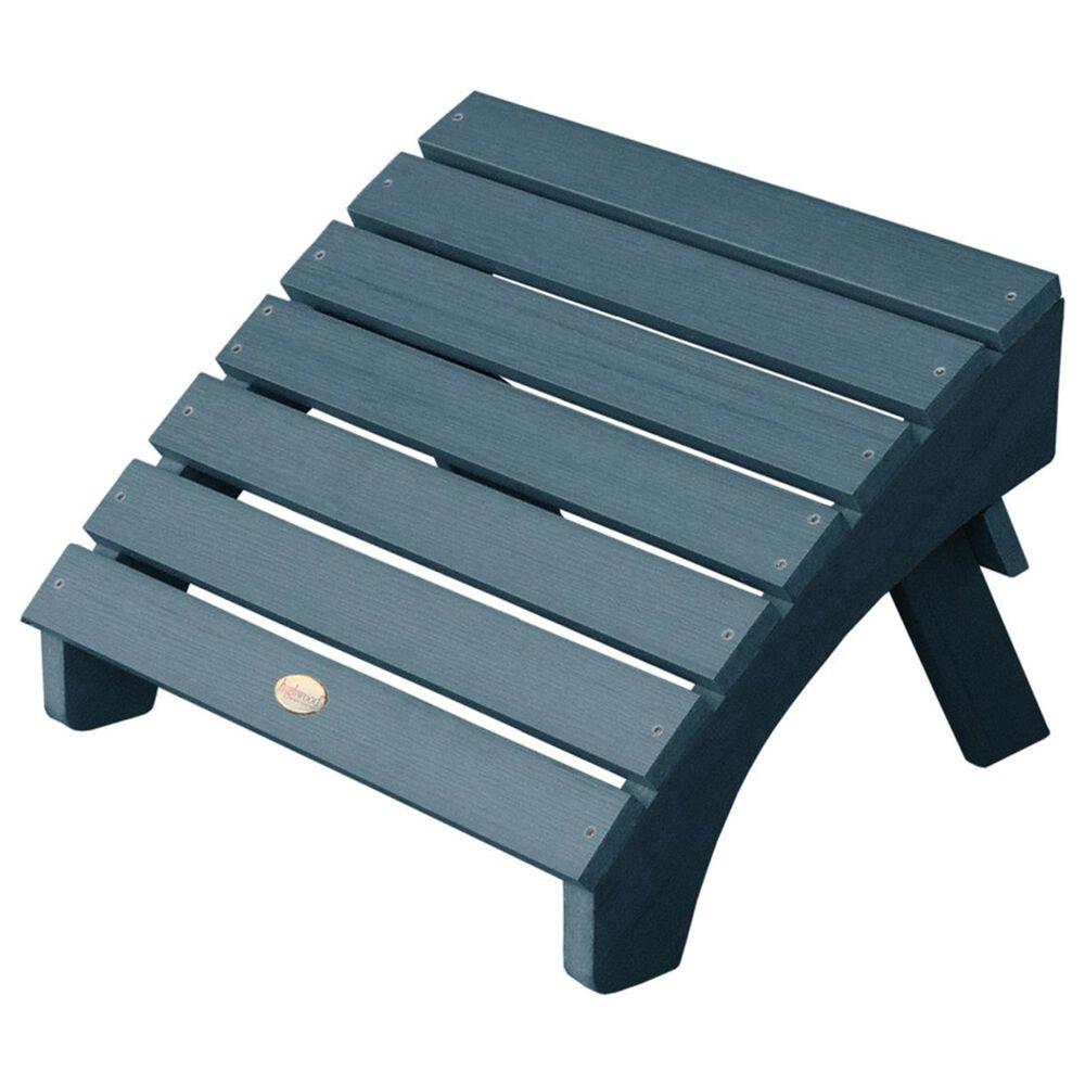 Highwood USA Classic Westport 2-Piece Adirondack Chair Set in Nantucket Blue, , large