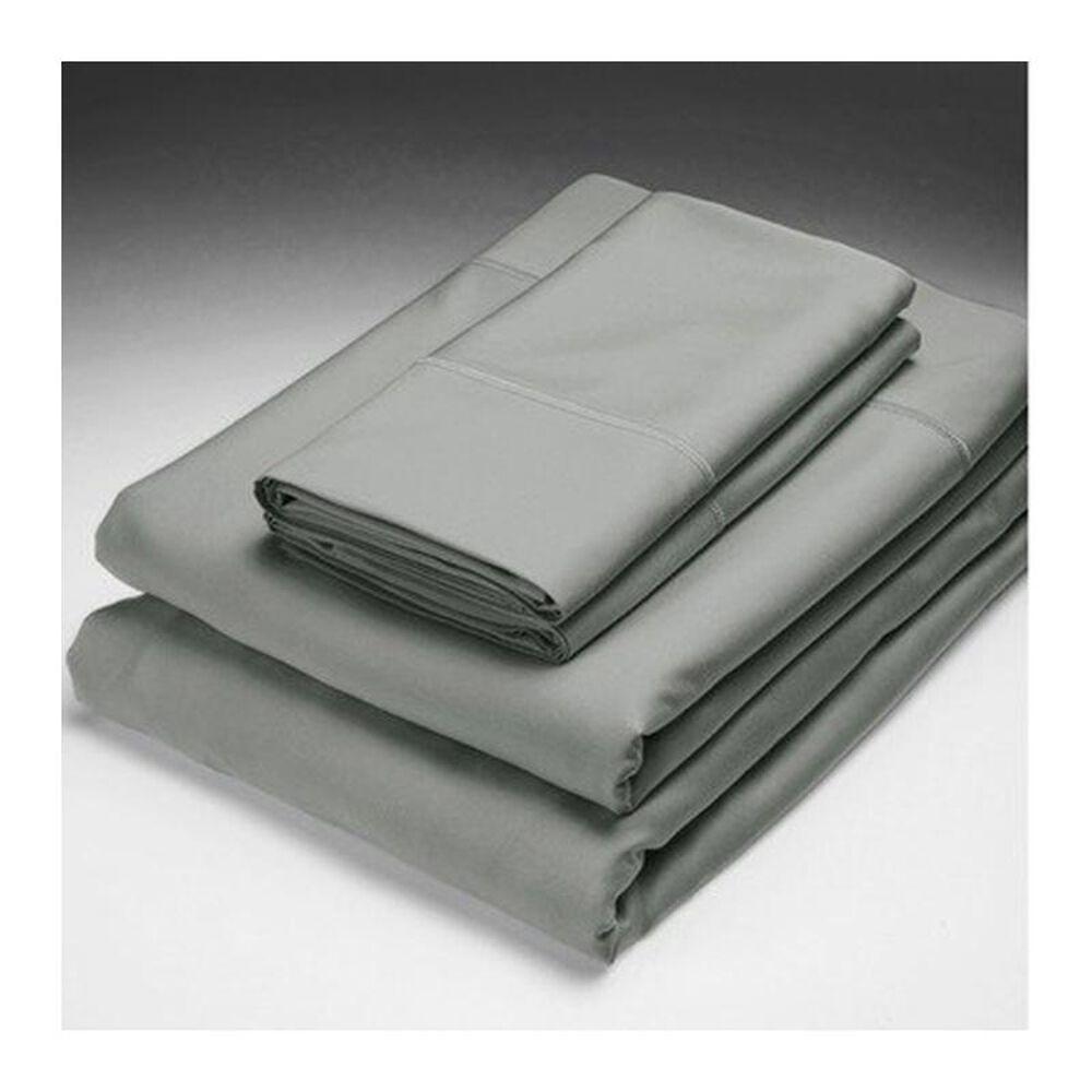 Caro Home Bamboo Solid King Sheet Set in Black Pearl, , large
