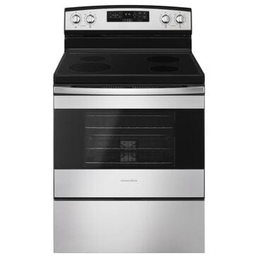 Amana 4.8 Cu. Ft. Freestanding Electric Range with Ceramic Top in Stainless Steel, , large