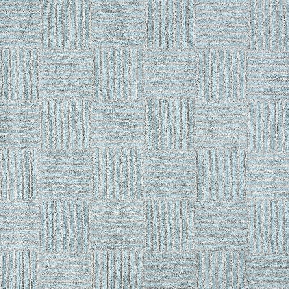 Safavieh Abstract 4' x 6' Blue and Grey Area Rug, , large