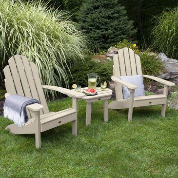 Highwood USA Classic Westport 3-Piece Adirondack Chair Set in Whitewash, , large