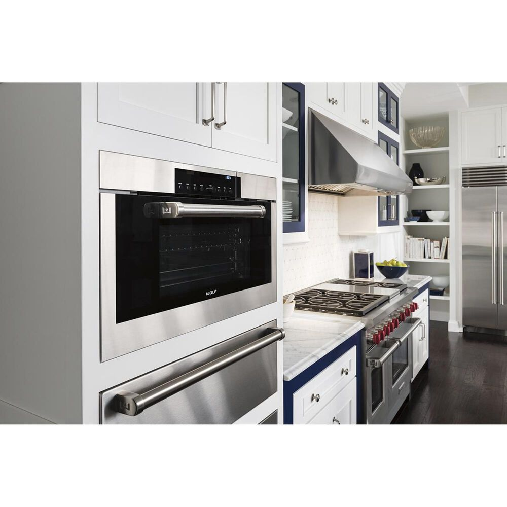 """Wolf 30"""" Convection Steam Oven in Stainless Steel, , large"""