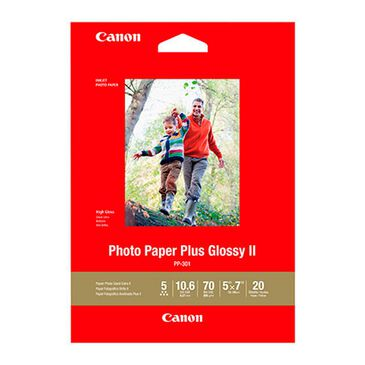 Canon Photo Paper Plus Glossy II - PP-301 - 5x7 (20 Sheets), , large