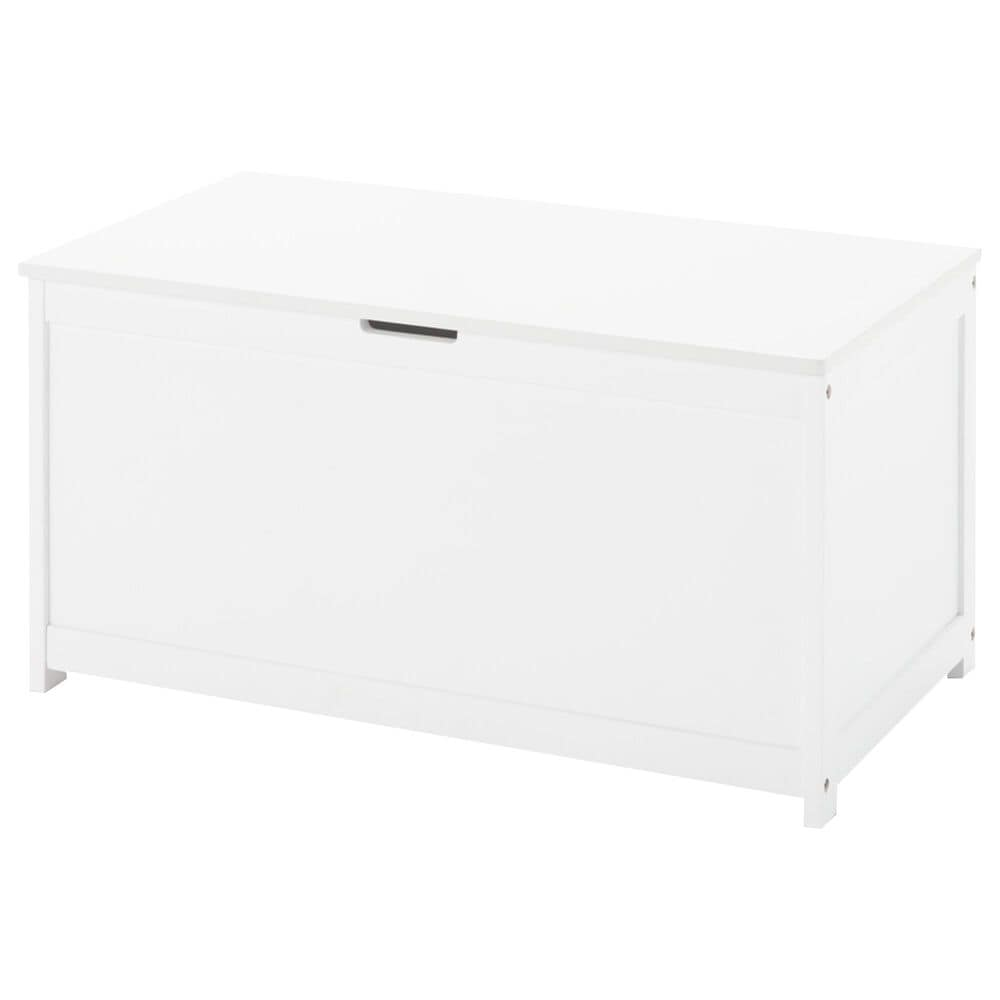 Foundations Worldwide Harmony Toy Chest in Matte White, , large