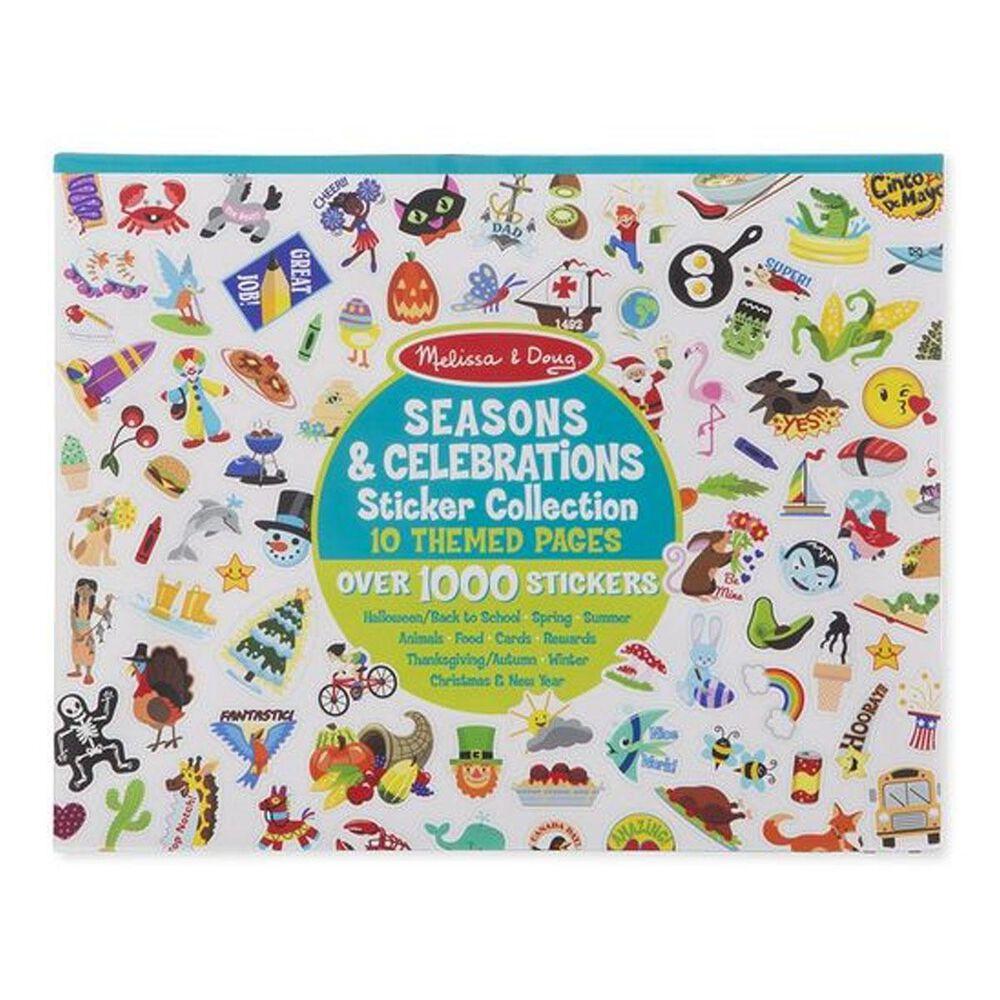 Melissa & Doug Sticker Collection - Seasons and Celebrations, , large