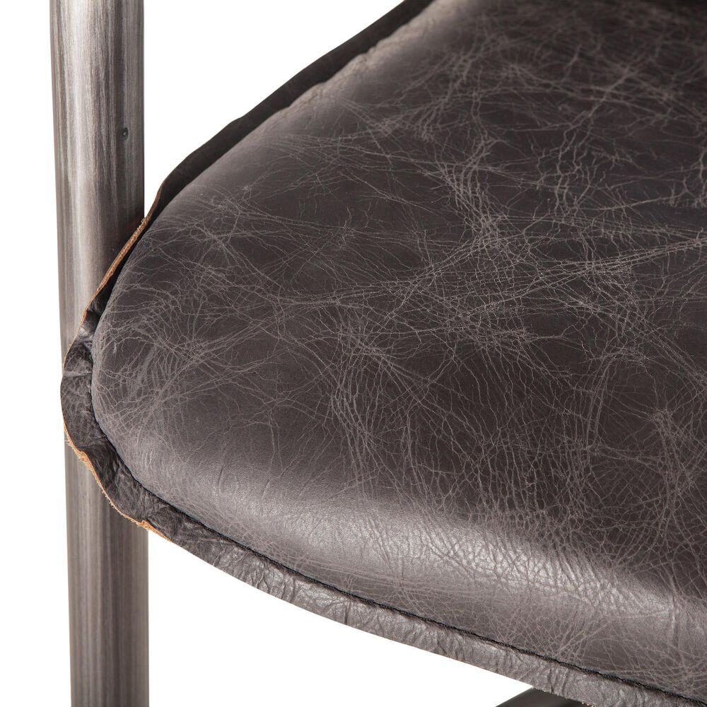 Home Trends & Design Portofino Counter Chair in Antique Ebony (Set of 2), , large