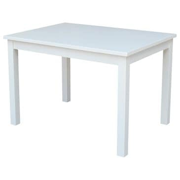 International Concepts Mission Juvenile Table in White, , large