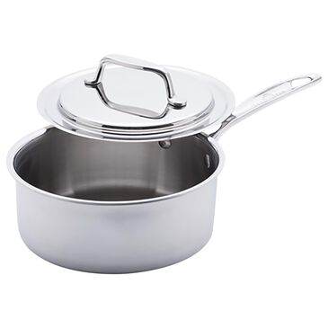 """USA PAN 7"""" Sauce Pan with Cover in Gray, , large"""