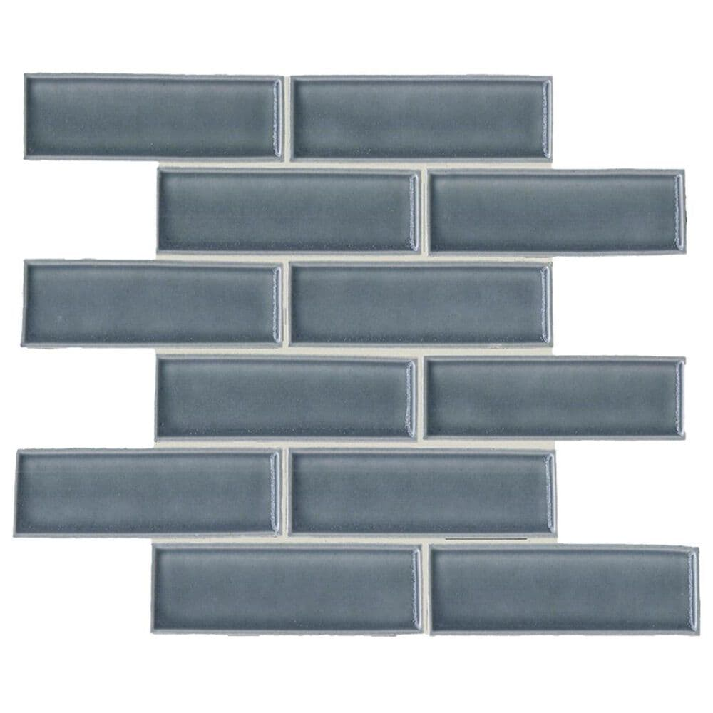 "Soci Chateau Biscay Vault Brick 12""x 12"" Ceramic Mosaic Sheet, , large"